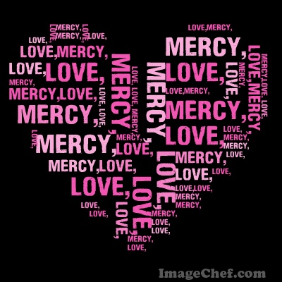IMAGE Mercy and Hope Wordcloud